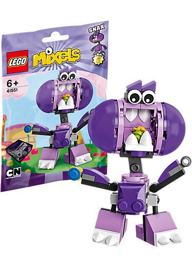 Lego Mixels 41551 - Sinh Vật Snax mang đến cho trẻ nhiều trải nghiệm thú vị