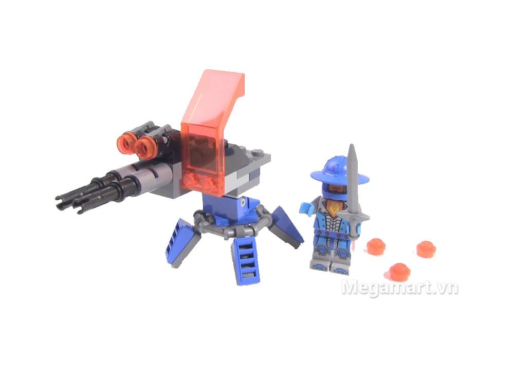Các chi tiết trong bộ  Lego Nexo Knights 30373 - Súng Đại Bác