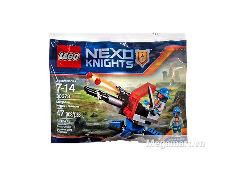 Vỏ sản phẩm Lego Nexo Knights 30373 - Súng Đại Bác