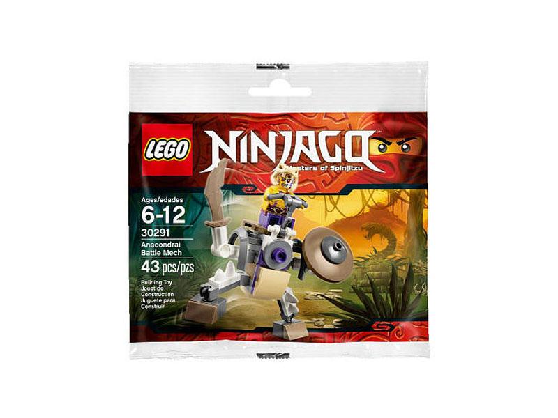 Vỏ sản phẩm Lego Ninjago 30291 - Anacondrai Battle Mech