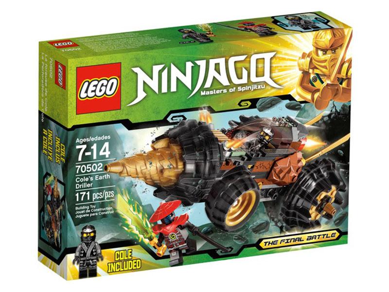 Vỏ sản phẩm Lego Ninjago 70502 - Xe Chiến Đấu Máy Khoan
