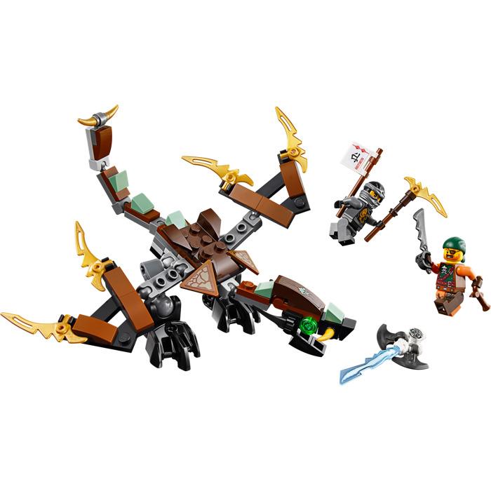 Tất cả các chi tiết có trong bộ Lego Ninjago 70599 - Rồng chiến của Cole