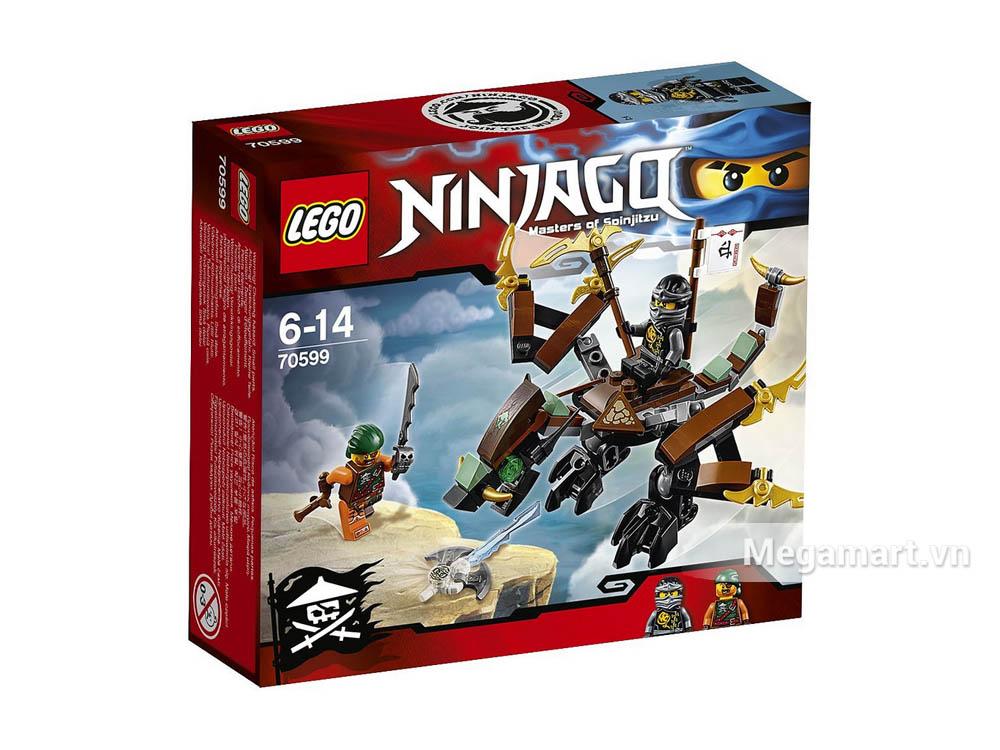 Vỏ ngoài bộ sản phẩm Lego Ninjago 70599 - Rồng chiến của Cole