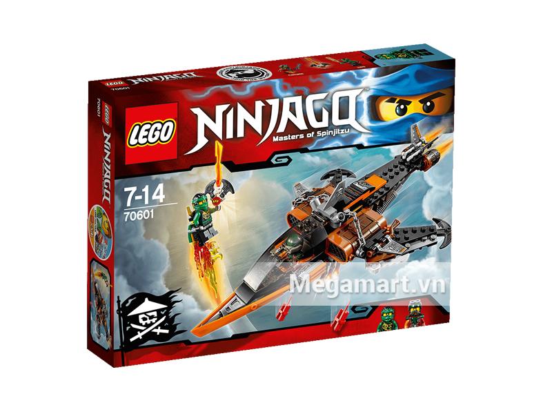 Vỏ ngoài sản phẩm Lego Ninjago 70601 - Phi Cơ Chiến Đấu Cá Mập