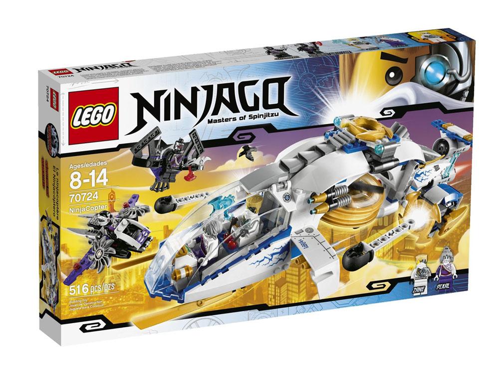 Vỏ hộp sản phẩm Lego Ninjago 70724 - Trực Thăng Ninja