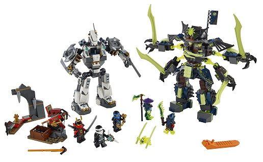 Mô hình các nhân vật chính trong bộ đồ chơi Lego 70738