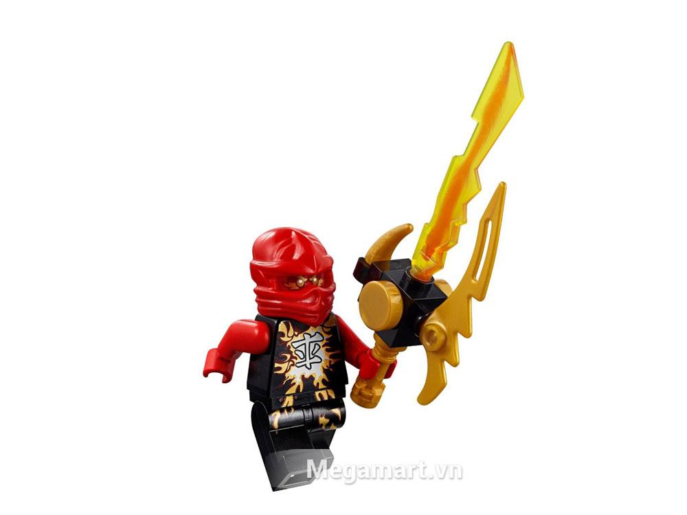Nhân vật Kai rất được các bé trai yêu thíchtrong seriesLego Ninjago
