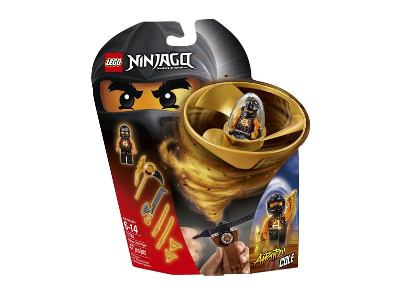 Vỏ sản phẩm Lego Ninjago 70741 - Lốc Xoáy Trên Không của Cole