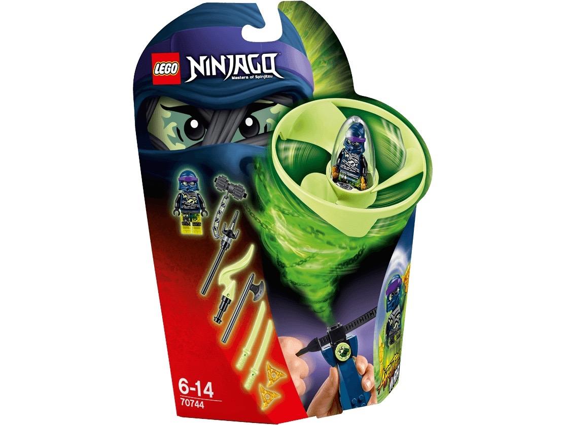Vỏ hộp sản phẩm Lego Ninjago 70744 - Lốc Xoáy Trên Không của Wrayth