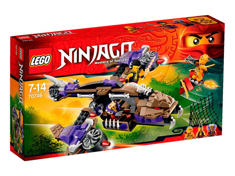 Vỏ hộp sản phẩm Lego Ninjago 70746 - Máy bay độc xà