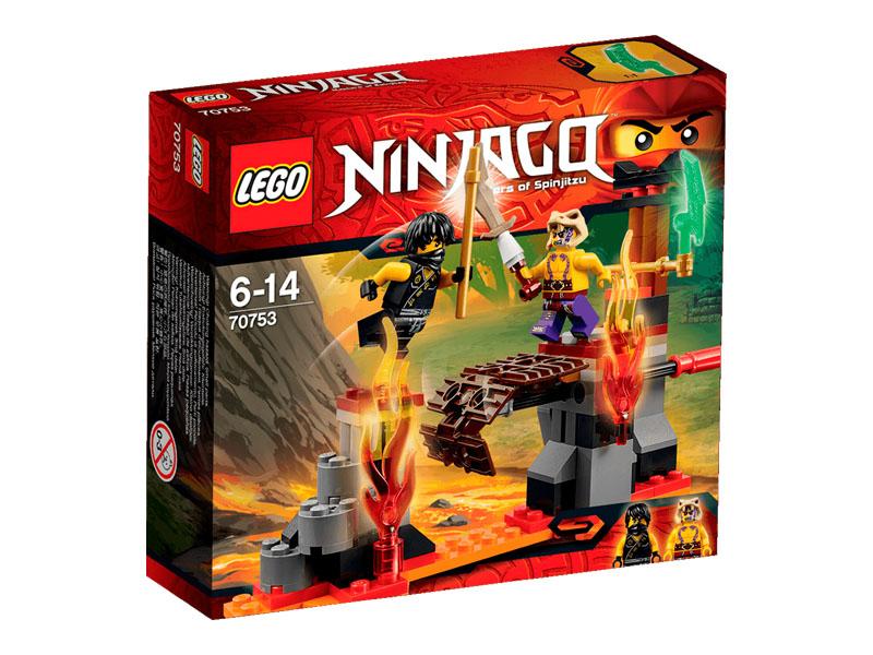 Hộp vỏ ngoài sản phẩm Lego Ninjago 70753 - Thác Nham Thạch