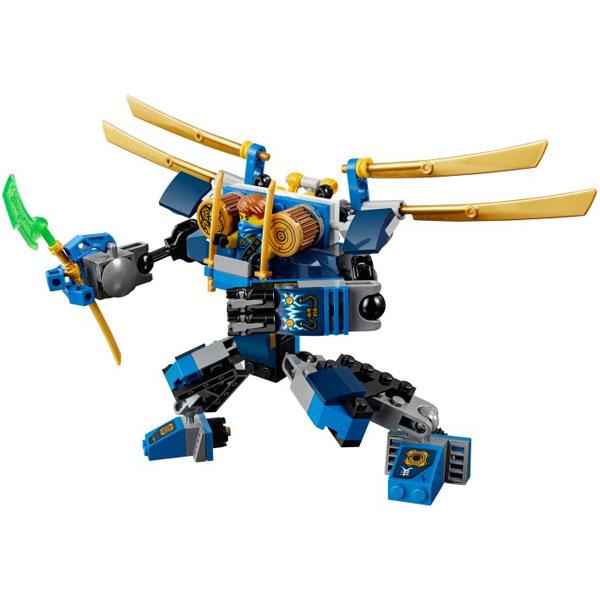 Chú robot dũng cảm trong bộ đồ chơi chủ đề Ninjago