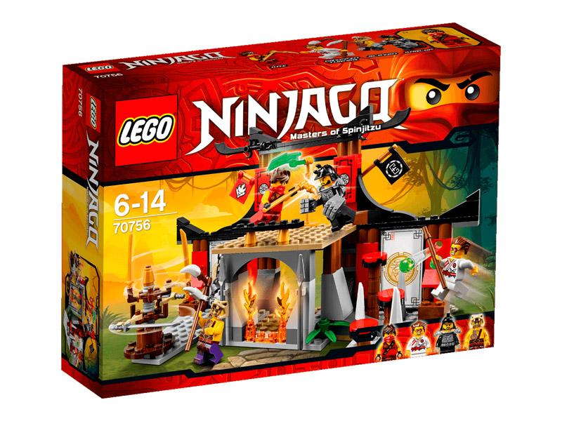 Vỏ hộp sản phẩm Lego Ninjago 70756 - Cuộc thử thách tại võ đường