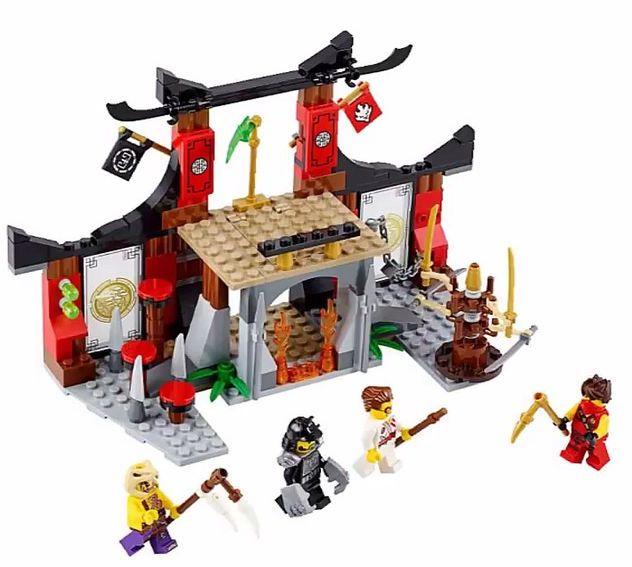 Hình ảnh các chi tiết trong bộ Lego Ninjago 70756 - Cuộc thử thách tại võ đường