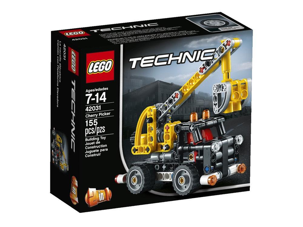 Vỏ hộp sản phẩm Lego Technic 42031 - Xe Nâng