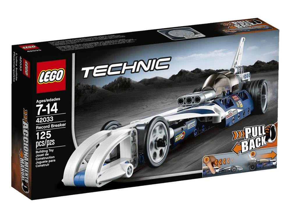 Vỏ hộp sản phẩm Lego Technic 42033 - Kỷ Lục Tốc Độ