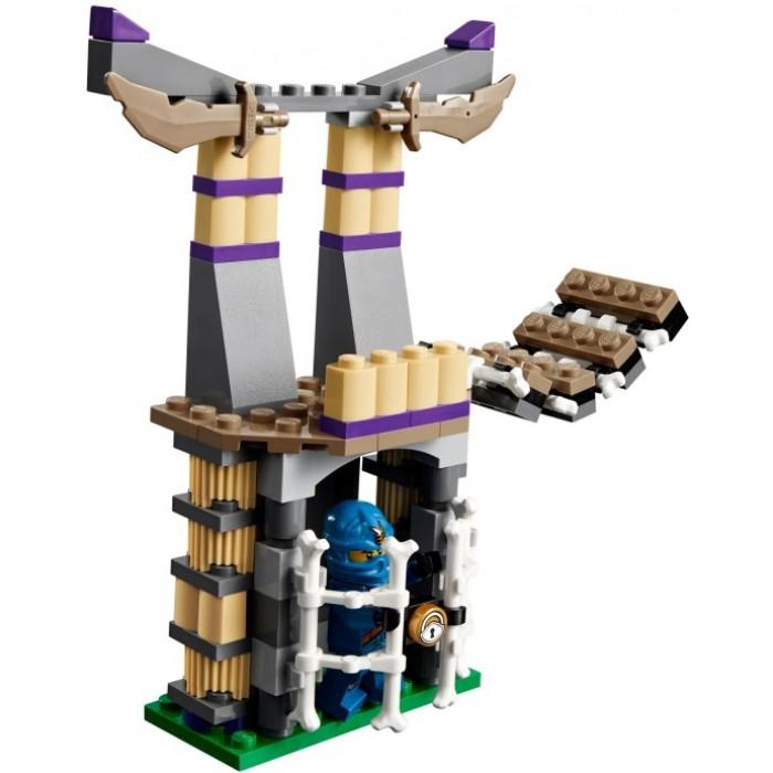 Ngôi đền Anacondrai xuất hiện trong bộ Lego Ninjago 70749 - Xâm nhập hang rắn