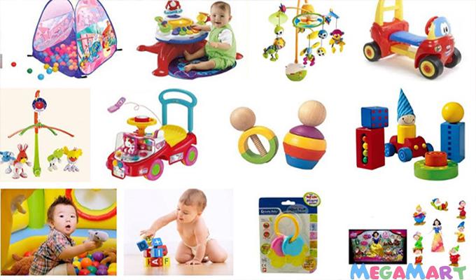 Bé 7-12 tháng tuổi có nhiều lựa chọn về đồ chơi để phát triển tư duy mạnh mẽ hơn