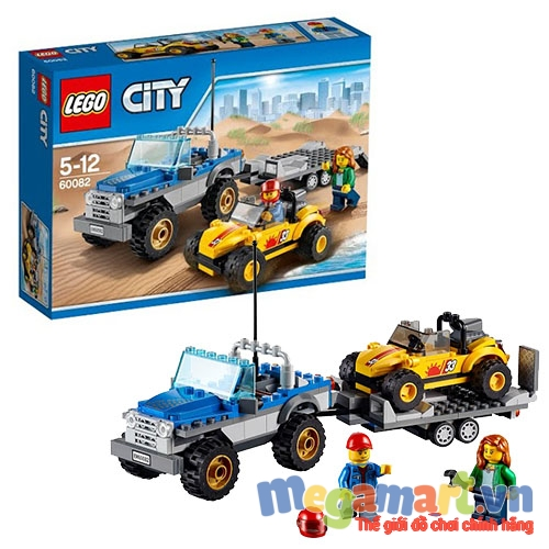Lego City 60082 - Dune Buggy Trailer
