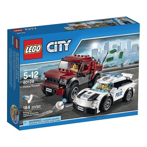 Hình ảnh vỏ hộp bộ đồ chơi Lego City 60128 - Cảnh sát truy đuổi