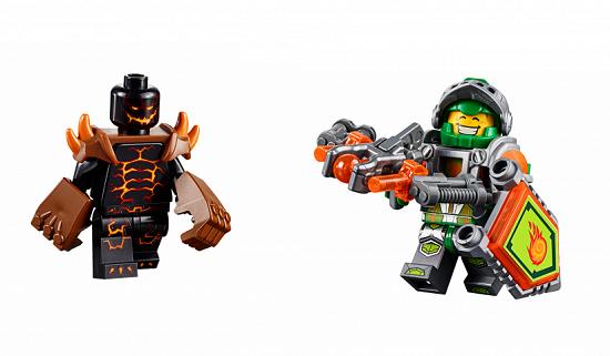 Lego Nexo Knights 70313 - Cỗ Máy Phá Hủy Của Moltor - Các chi tiết trong bộ xếp hình