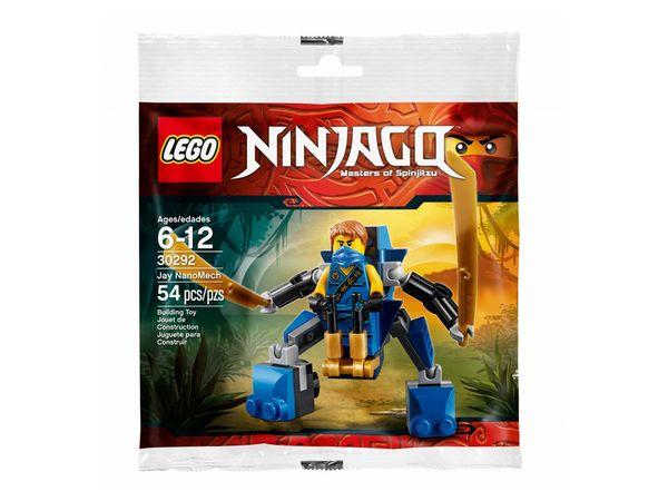 Mùa hè xanh - Nhận quà thả phanh cùng Megamart - Lego Ninjago 30292 - Rô bốt điện Jay