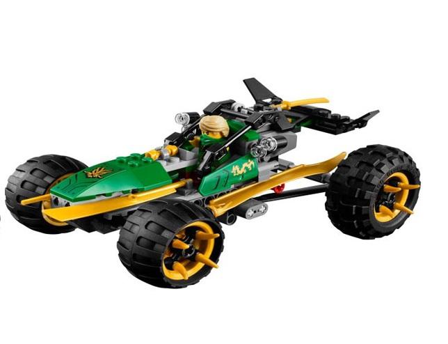 Chiếc xe địa hình trong bộ Lego Ninjago 70755 - Biệt Đội Rừng