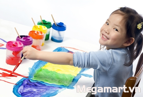 Bố mẹ hãy để con được thỏa sức tự ý sáng tạo và khám phá