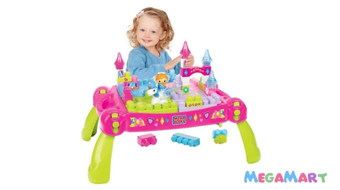 Đồ chơi xếp hình và thả khối Fisher Price dành cho bé gái 1 tuổi