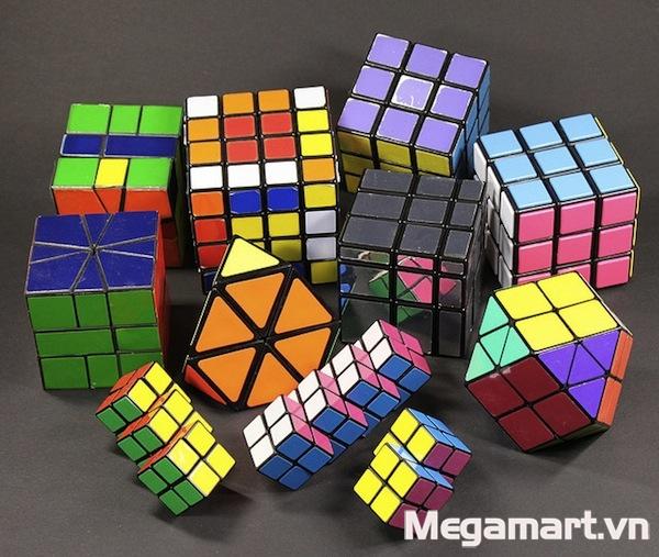 Có rất nhiều loại đồ chơi Rubik đa dạng