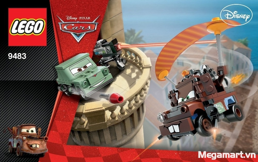 Lego Cars 9483 - Agent Mater's Escape