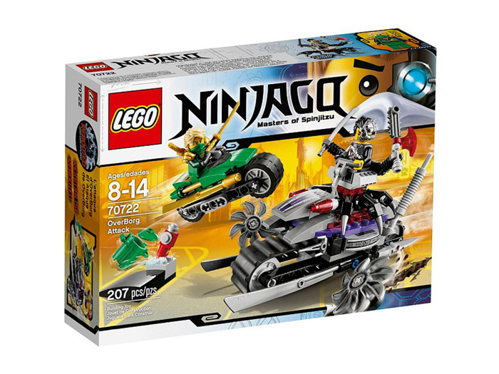 Vỏ hộp sản phẩm Lego Ninjago 70722 - Người Máy Tấn Công