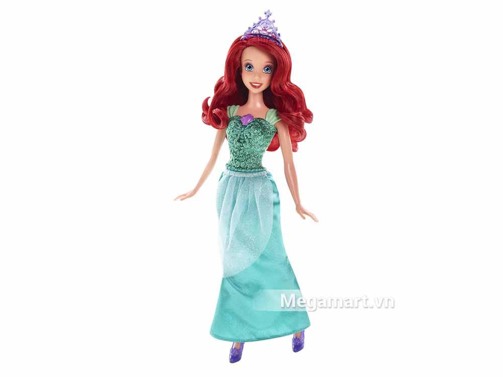 Bộ đồ chơi Barbie Công chúa Disney Ariel hình ảnh thật sản phẩm