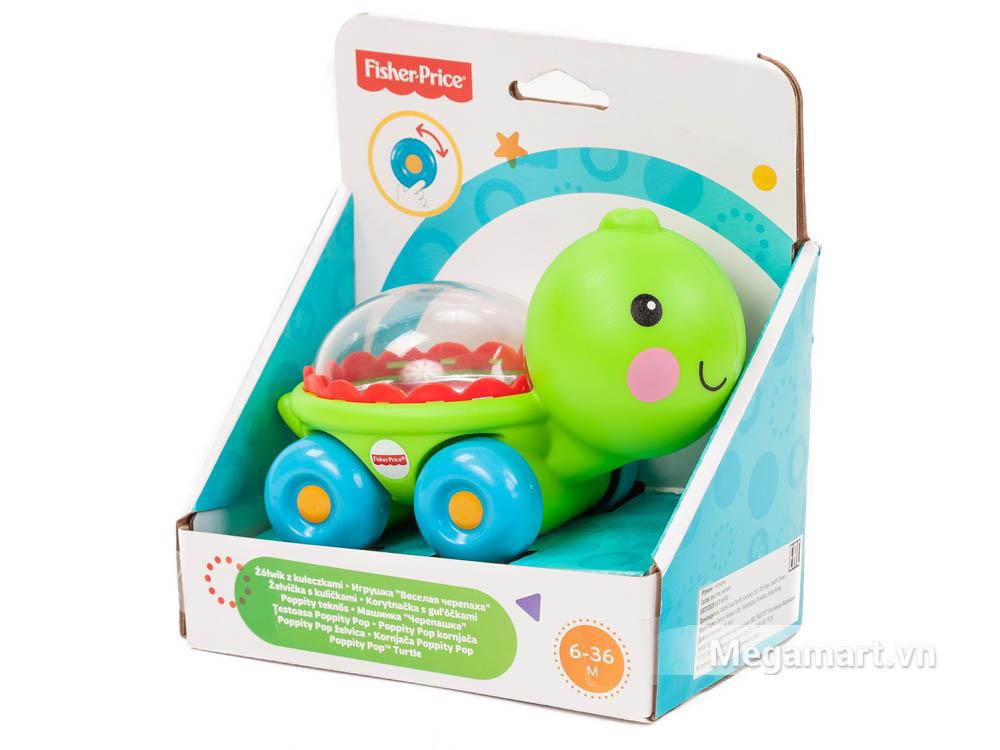 Hình ảnh bộ đồ chơi Fisher Price Rùa xinh chở kẹo