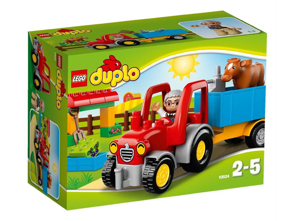 Vỏ hộp sản phẩm Lego Duplo 10524 - Xe Kéo Trang Trại
