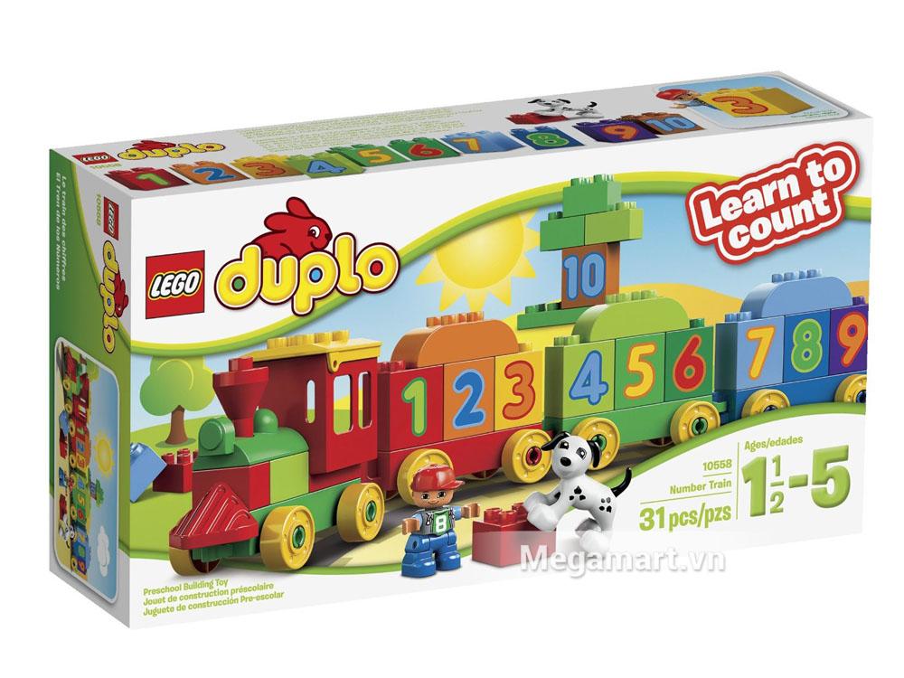 Lego Duplo 10558 - Đoàn tàu các con số