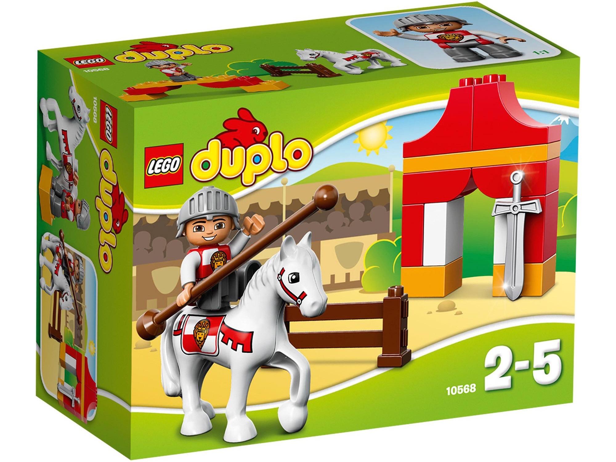 Vỏ hốp ản phẩm Lego Duplo 10568 - Kỵ Sĩ