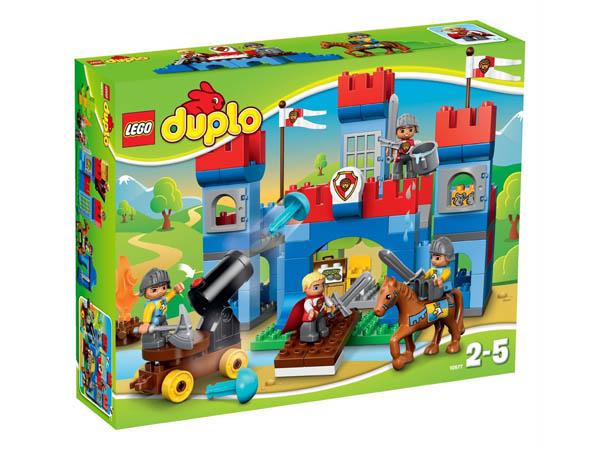 Vỏ hộp sản phẩm Lego Duplo 10577 - Lâu Đài Hoàng Gia