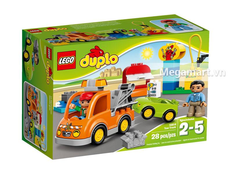 Vỏ hộp sản phẩm Lego 10814 - Xe Tải Cứu Hộ