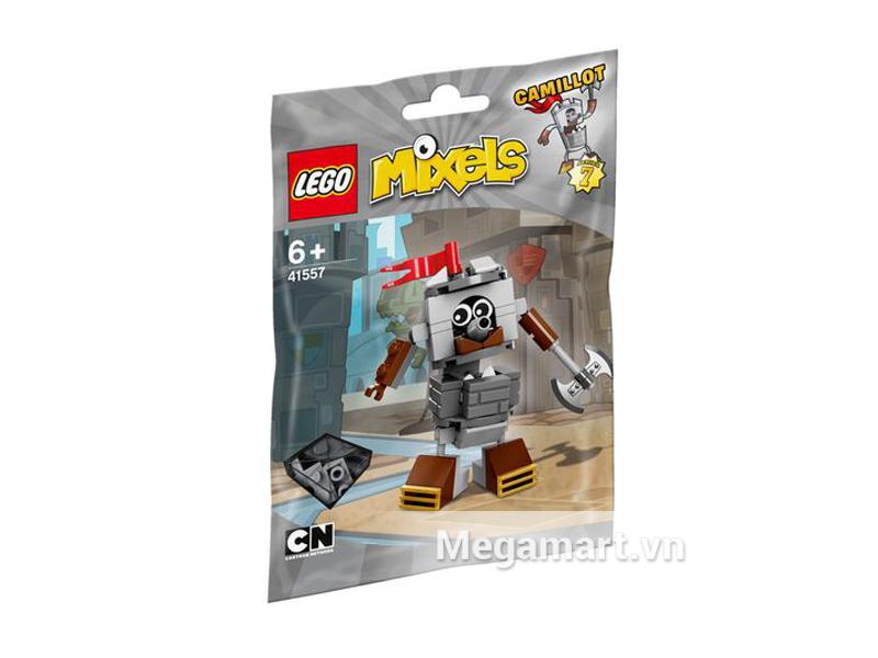 Hình ảnh bộ ghép hình Lego Mixels 41557- Pháo Đài Di Động Camilot