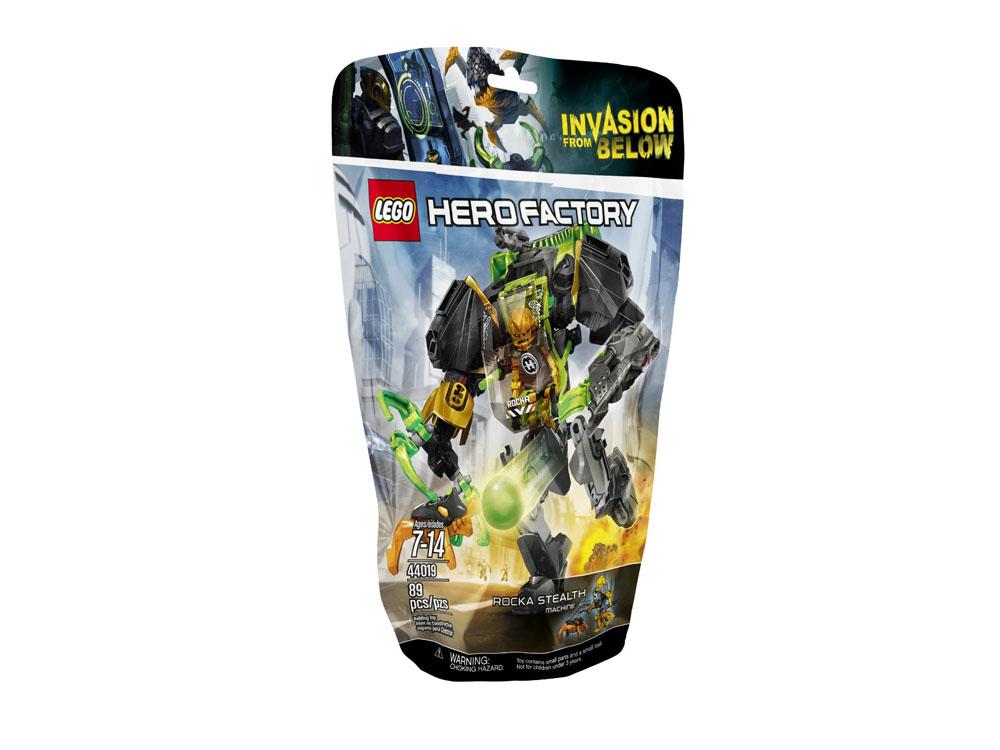 Vỏ sản phẩm Lego Hero Factory 44019 - Cỗ Máy Trinh Sát Của Rocka