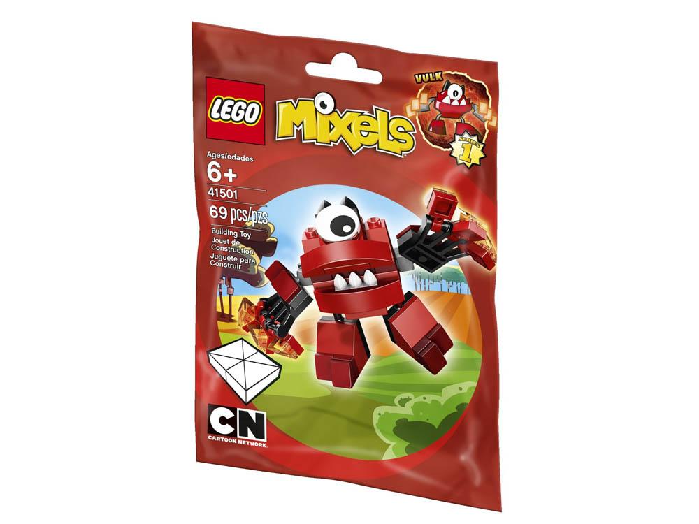 Vỏ sản phẩm Lego Mixels 41501 - Sinh Vật Vulk