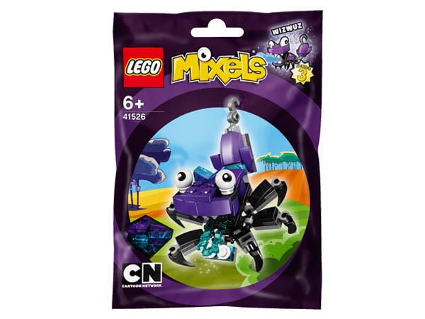 Vỏ hộp sản phẩm Lego Mixels 41526 - Sinh Vật Wizwuz