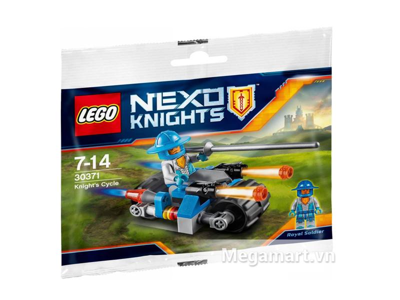 Bộ ghép hình Lego Nexo Knights 30371 - Xe Chiến Đấu Hiệp Sĩ dành cho bé từ 7 đến 14 tuổi