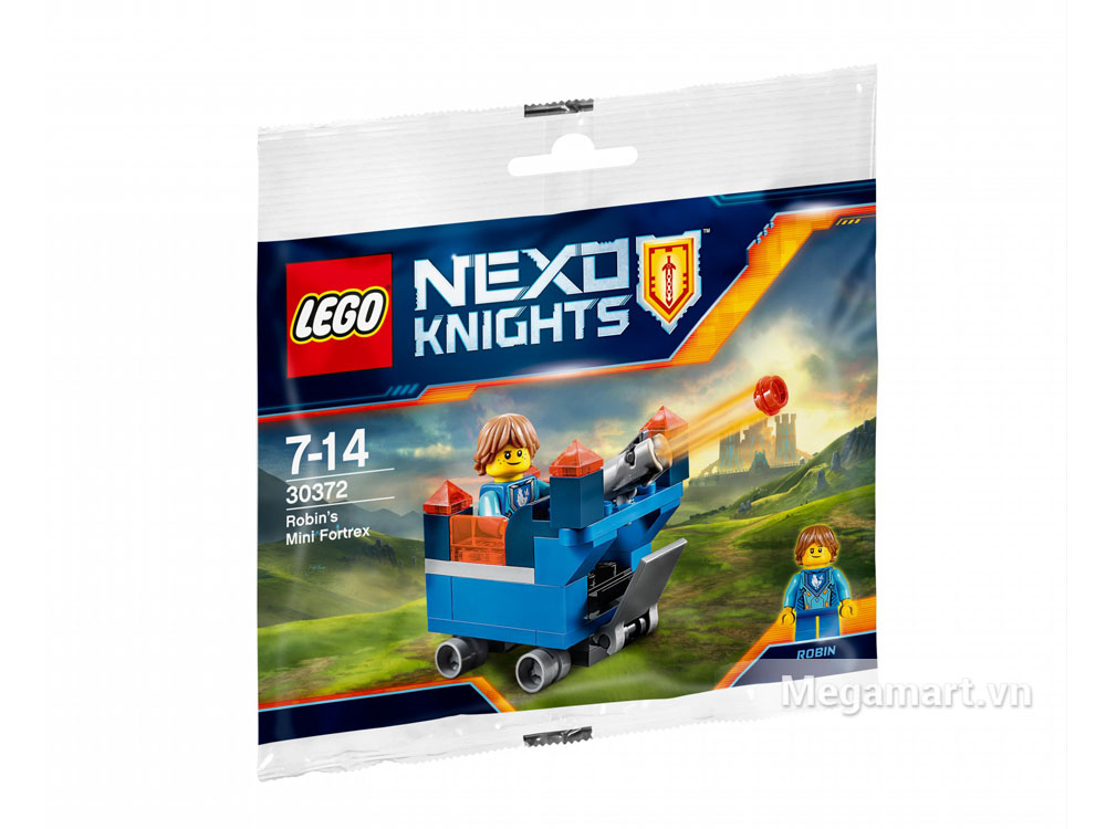 Bộ ghép hình Lego Nexo Knights 30372 - Pháo đài Mini của Robin