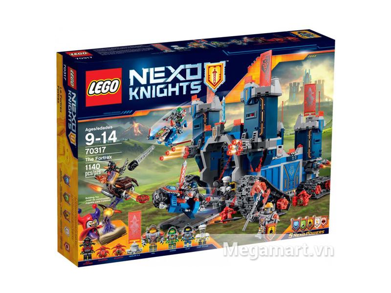 Hình ảnh bộ ghép hình Lego Nexo Knights 70317 - Pháo Đài Hiệp Sĩ