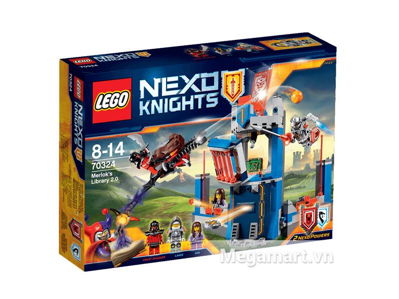 Hình ảnh bộ ghép hình Lego Nexo Knights 70324 - Thư Viện Merlok