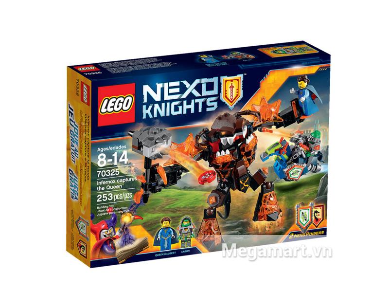 Hình ảnh bộ ghép hình Lego Nexo Knights 70325 - Quái Vật Nham Thạch Bắt Cóc Nữ Hoàng