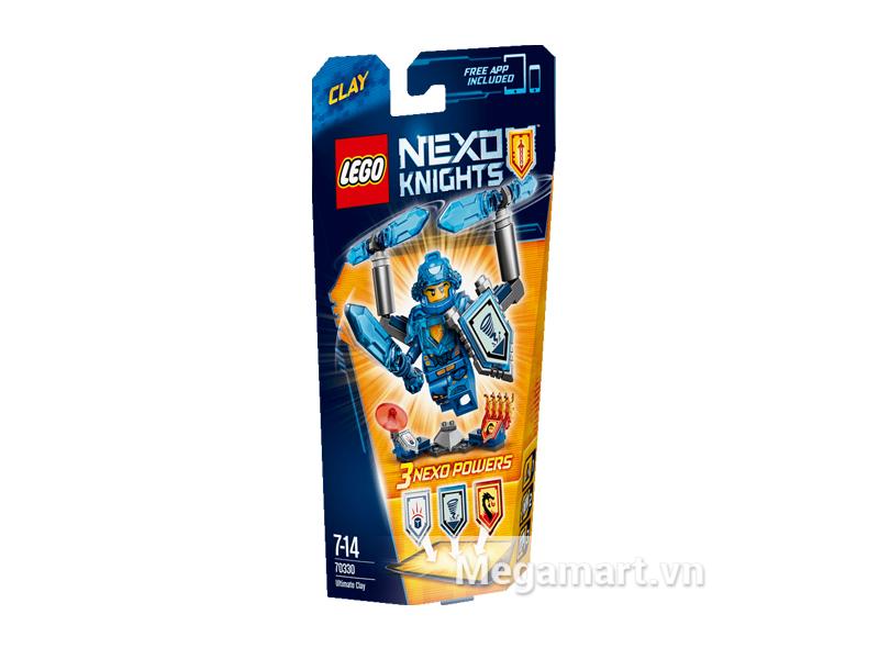 Hình ảnh bộ ghép hình Lego Nexo Knights 70330 - Hiệp Sĩ Clay