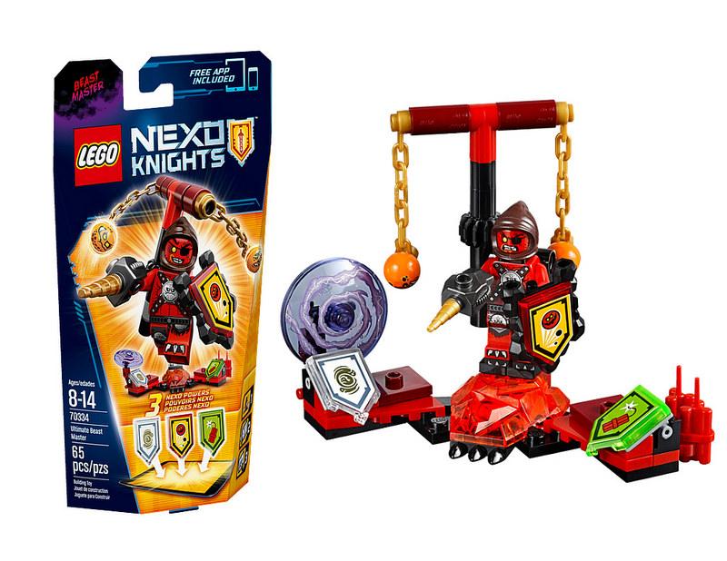 Bộ ghép hình Lego Nexo Knights 70334 - Quỷ Chỉ Huy độc đáo và hấp dẫn các bé